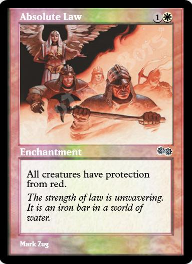 Absolute Law FOIL