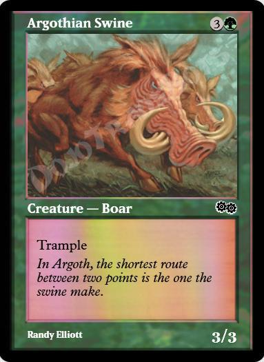 Argothian Swine FOIL