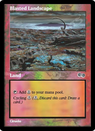 Blasted Landscape FOIL