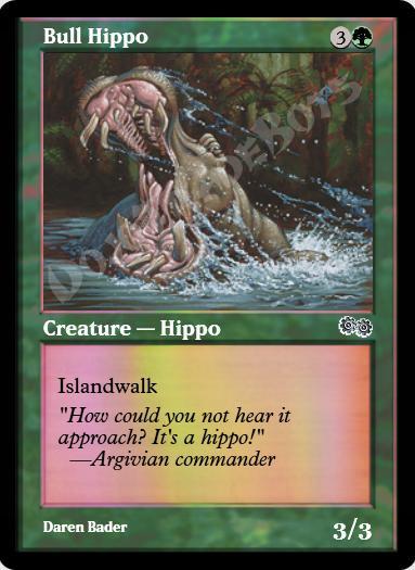 Bull Hippo FOIL