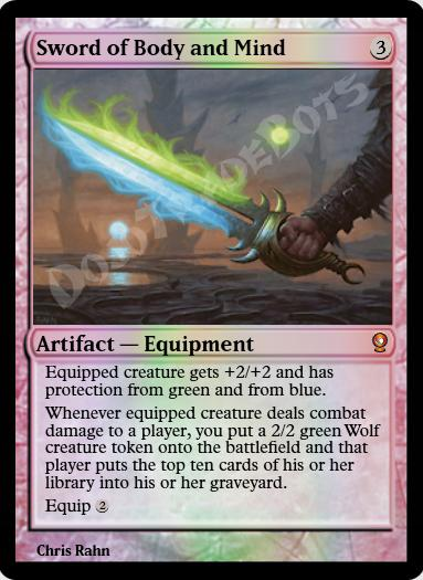 Sword of Body and Mind FOIL