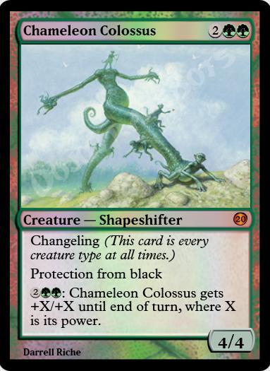 Chameleon Colossus FOIL