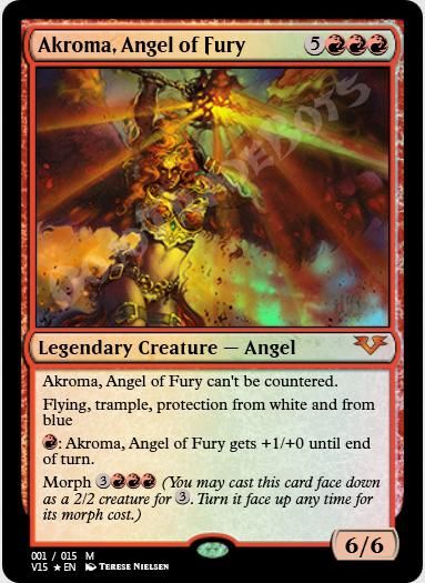 Akroma, Angel of Fury FOIL