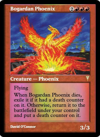 Bogardan Phoenix FOIL