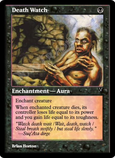 Death Watch FOIL