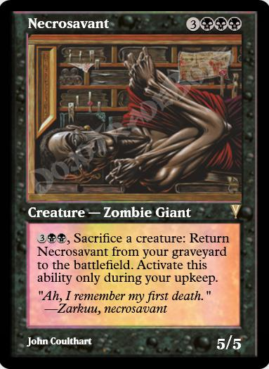 Necrosavant FOIL