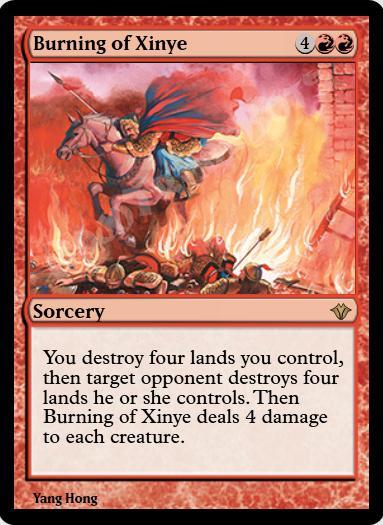 Burning of Xinye