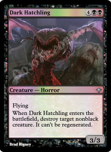 Dark Hatchling FOIL