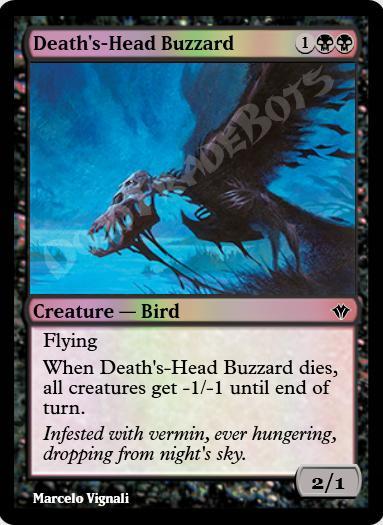 Death's-Head Buzzard FOIL