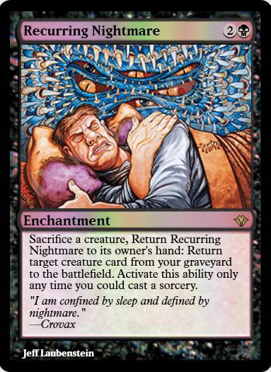 Recurring Nightmare FOIL