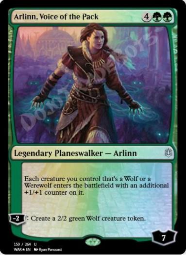 Arlinn, Voice of the Pack FOIL