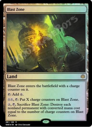 Blast Zone FOIL