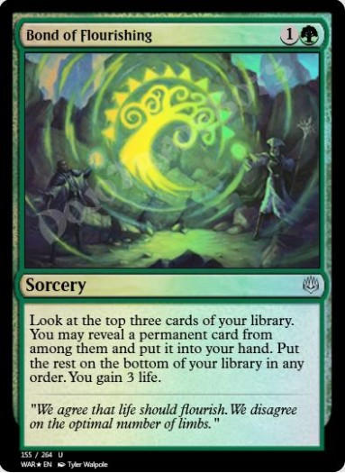Bond of Flourishing FOIL