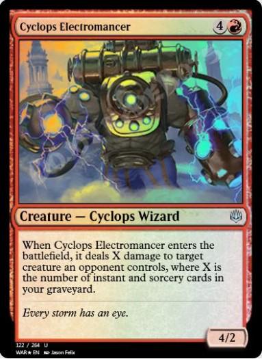 Cyclops Electromancer FOIL
