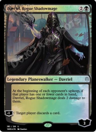Davriel, Rogue Shadowmage FOIL