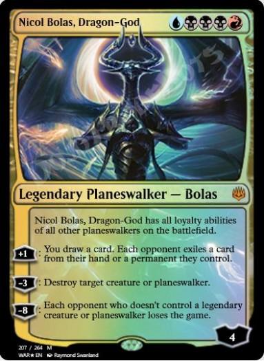 Nicol Bolas, Dragon-God FOIL