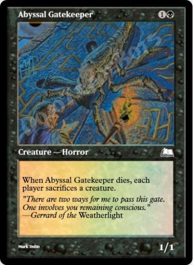 Abyssal Gatekeeper FOIL