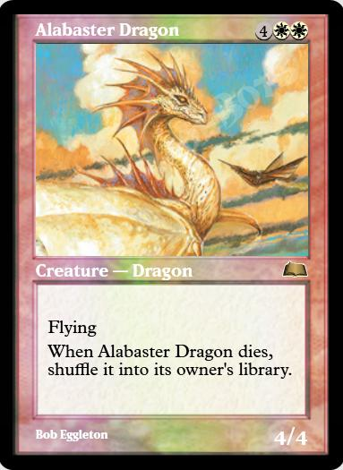Alabaster Dragon FOIL