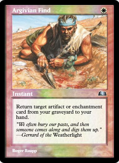 Argivian Find FOIL
