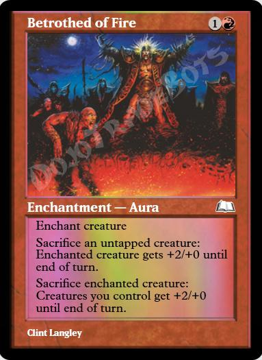 Betrothed of Fire FOIL