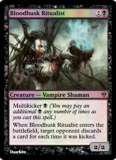 Bloodhusk Ritualist FOIL