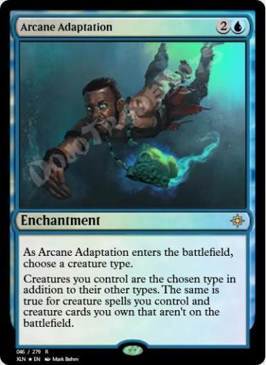 Arcane Adaptation FOIL
