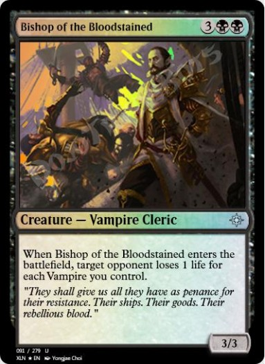 Bishop of the Bloodstained FOIL