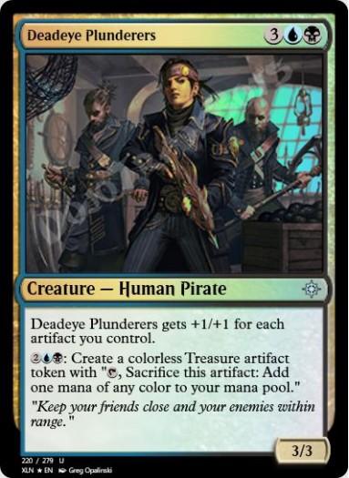 Deadeye Plunderers FOIL
