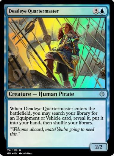 Deadeye Quartermaster FOIL