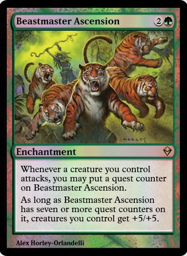 Beastmaster Ascension FOIL