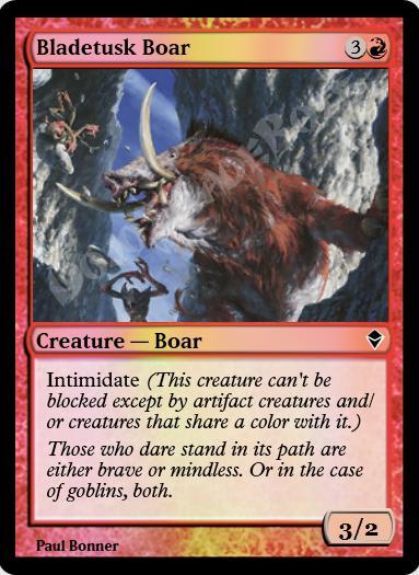 Bladetusk Boar FOIL