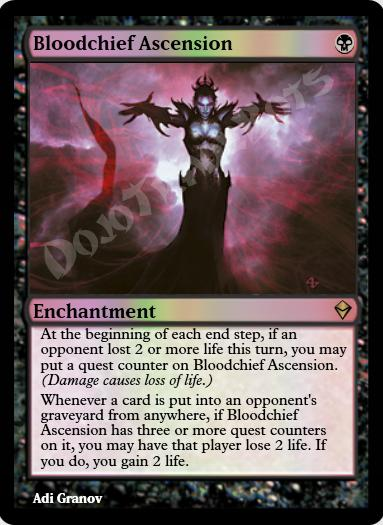 Bloodchief Ascension FOIL