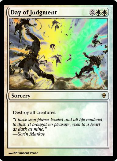 Day of Judgment FOIL