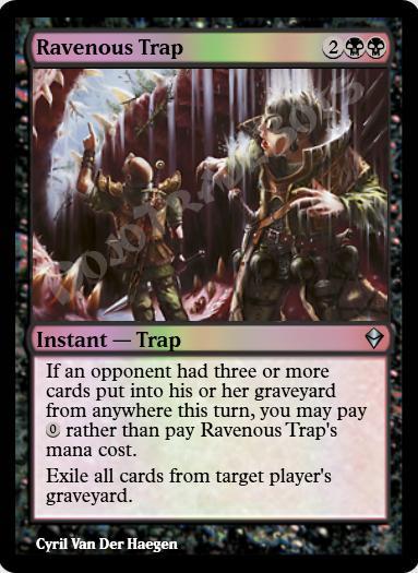 Ravenous Trap FOIL