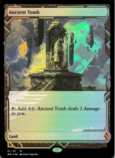 Ancient Tomb FOIL